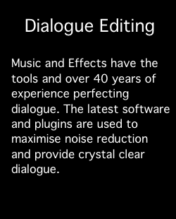 Services: Dialogue Editing