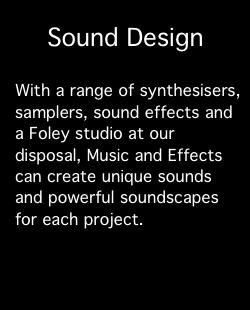 Services: Sound Design